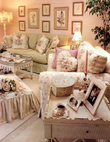 Shabby chic colors simply shabby chic - Salones estilo shabby chic ...